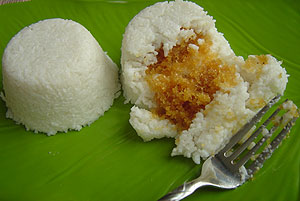 imbul kiri bath milk rice with cocunut stuffing